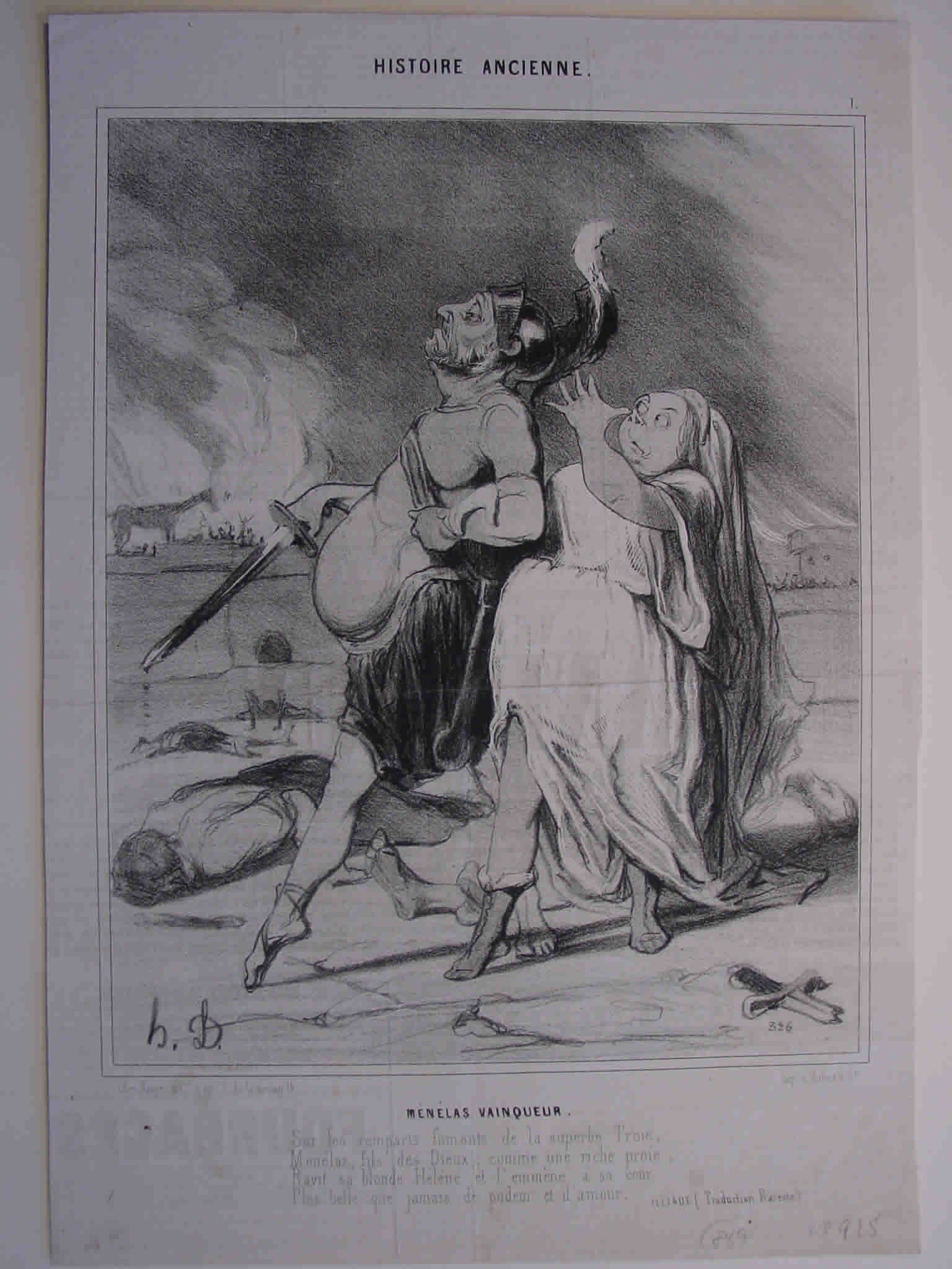 Honore Daumier, DR925