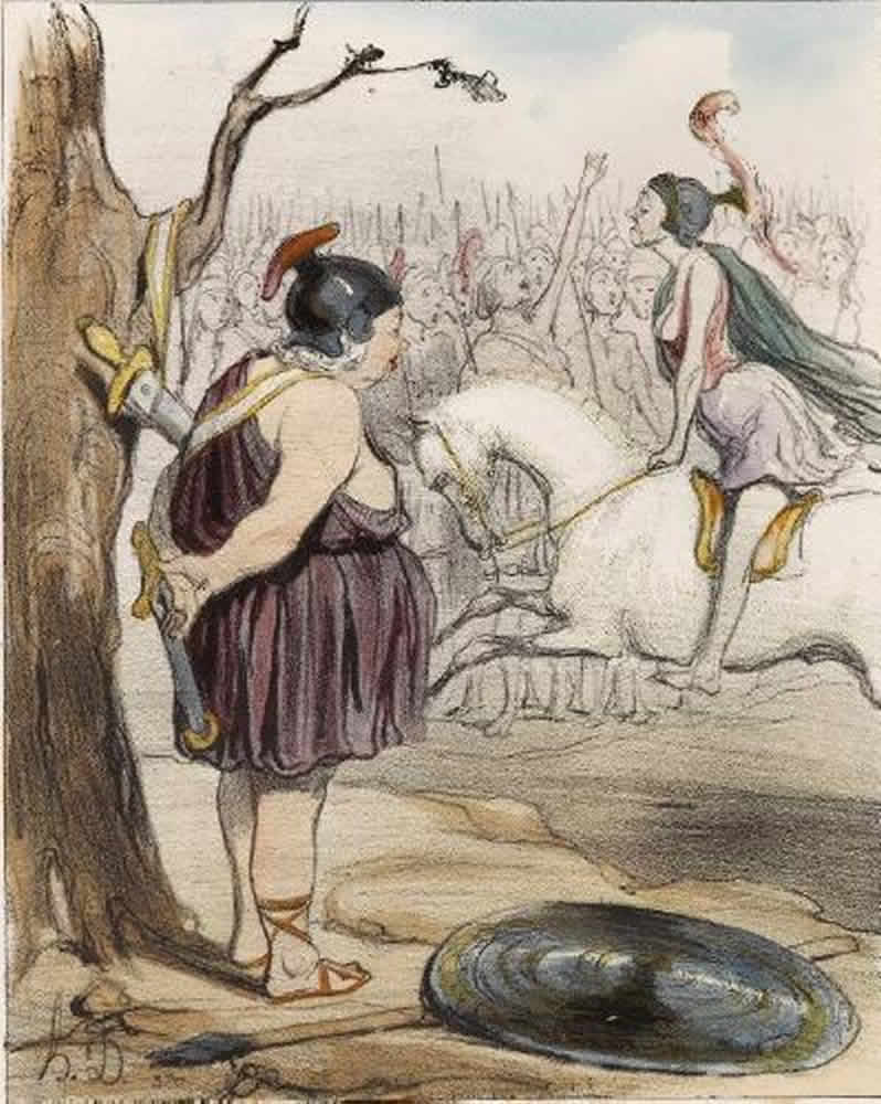 Honore Daumier, DR929
