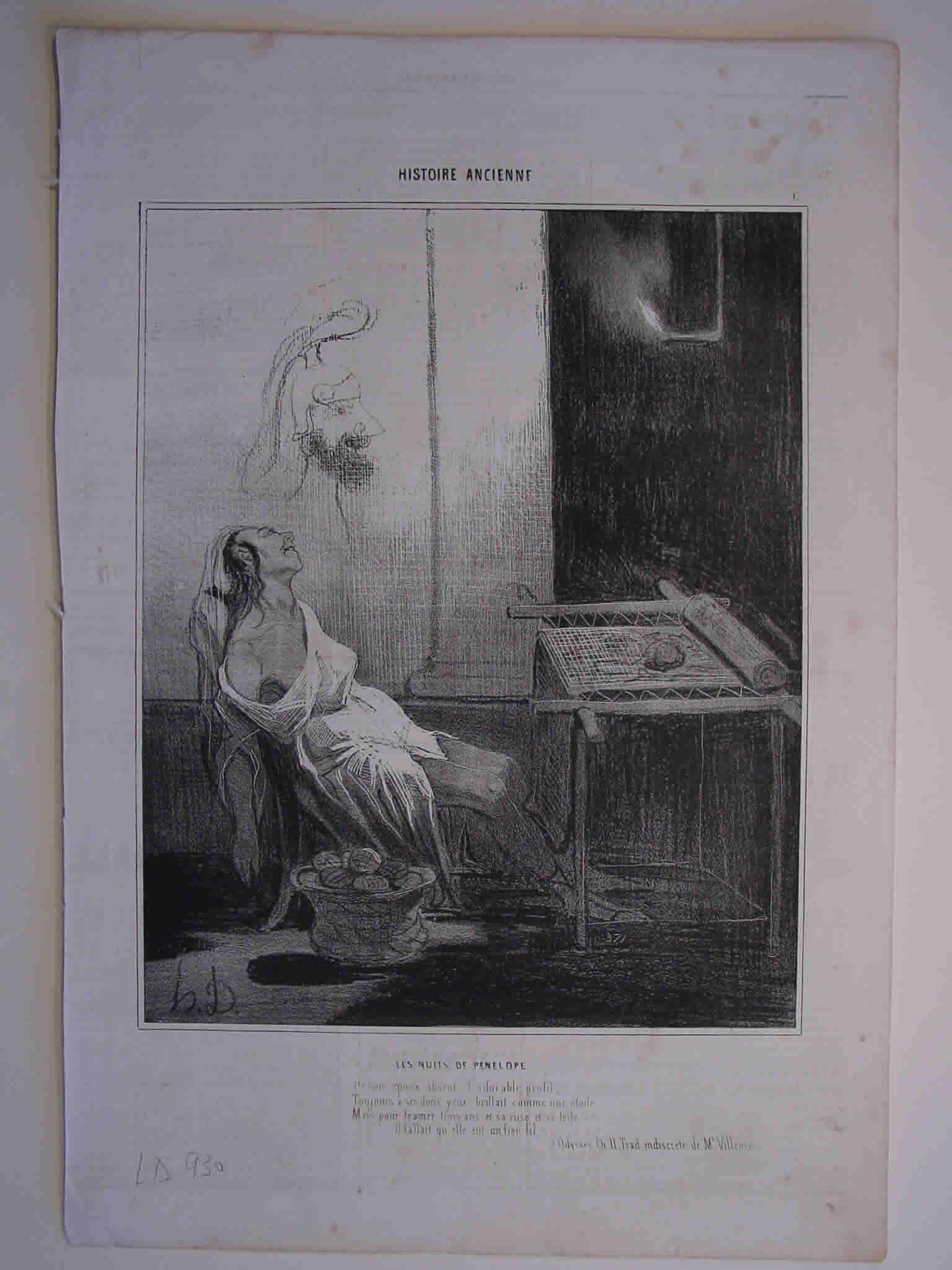 Honore Daumier, DR930