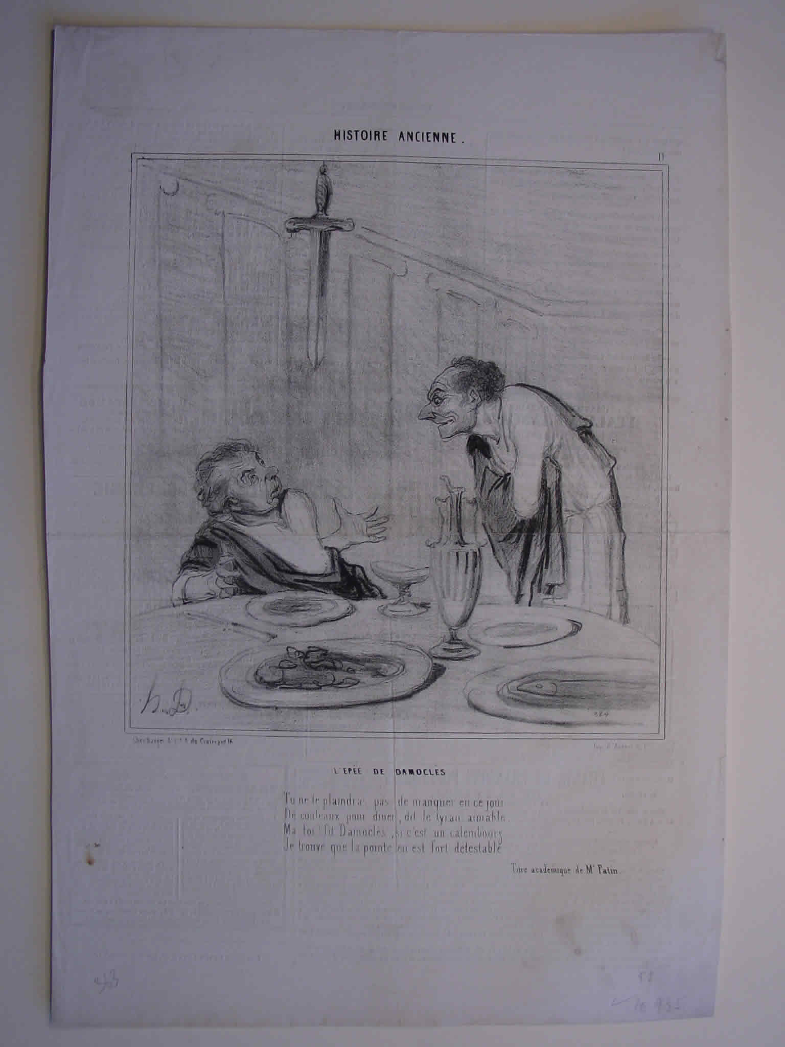 Honore Daumier, DR935