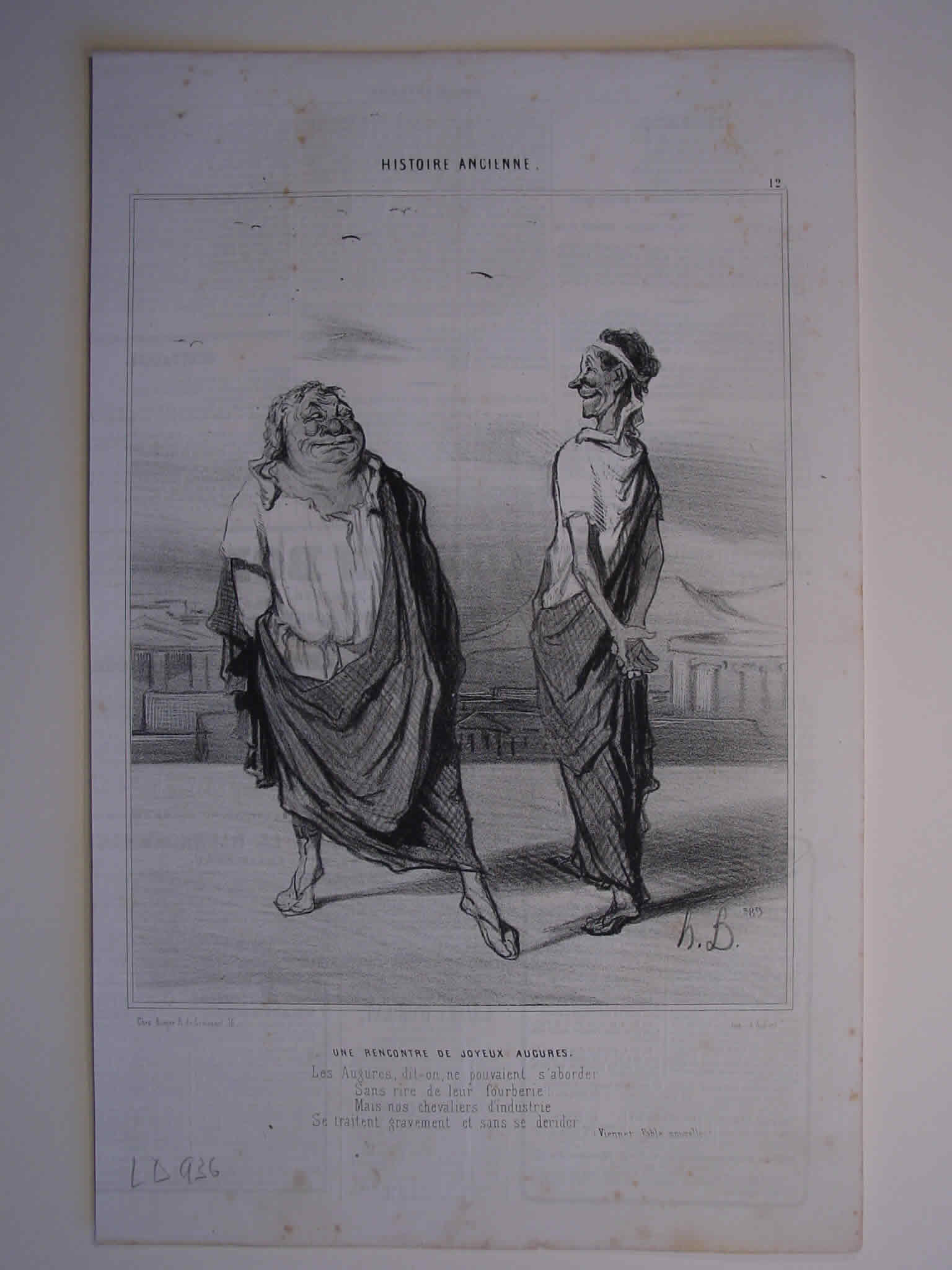 Honore Daumier, DR936