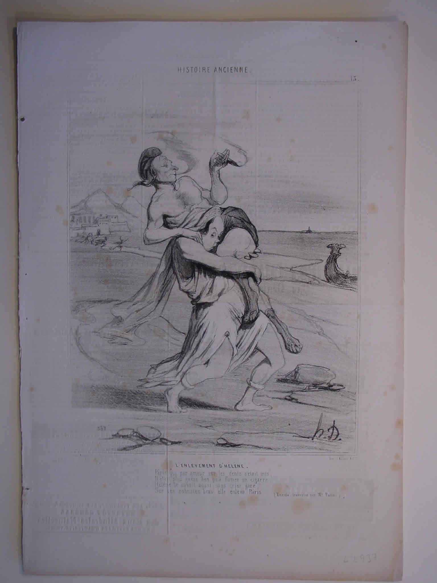 Honore Daumier, DR937