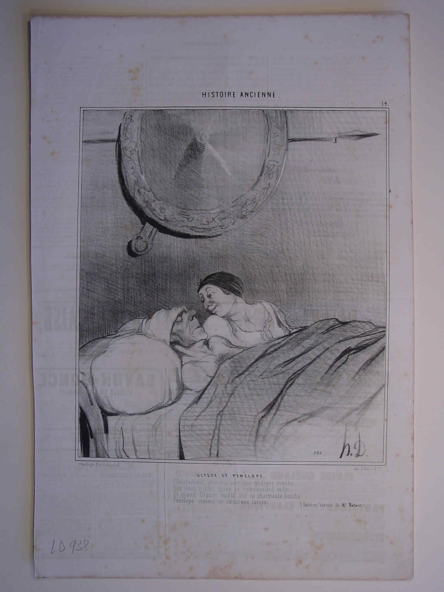 Honore Daumier, DR938