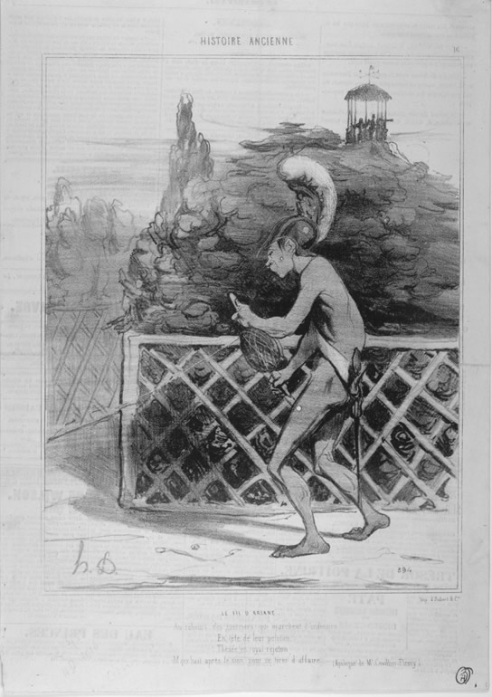 Honore Daumier, DR940