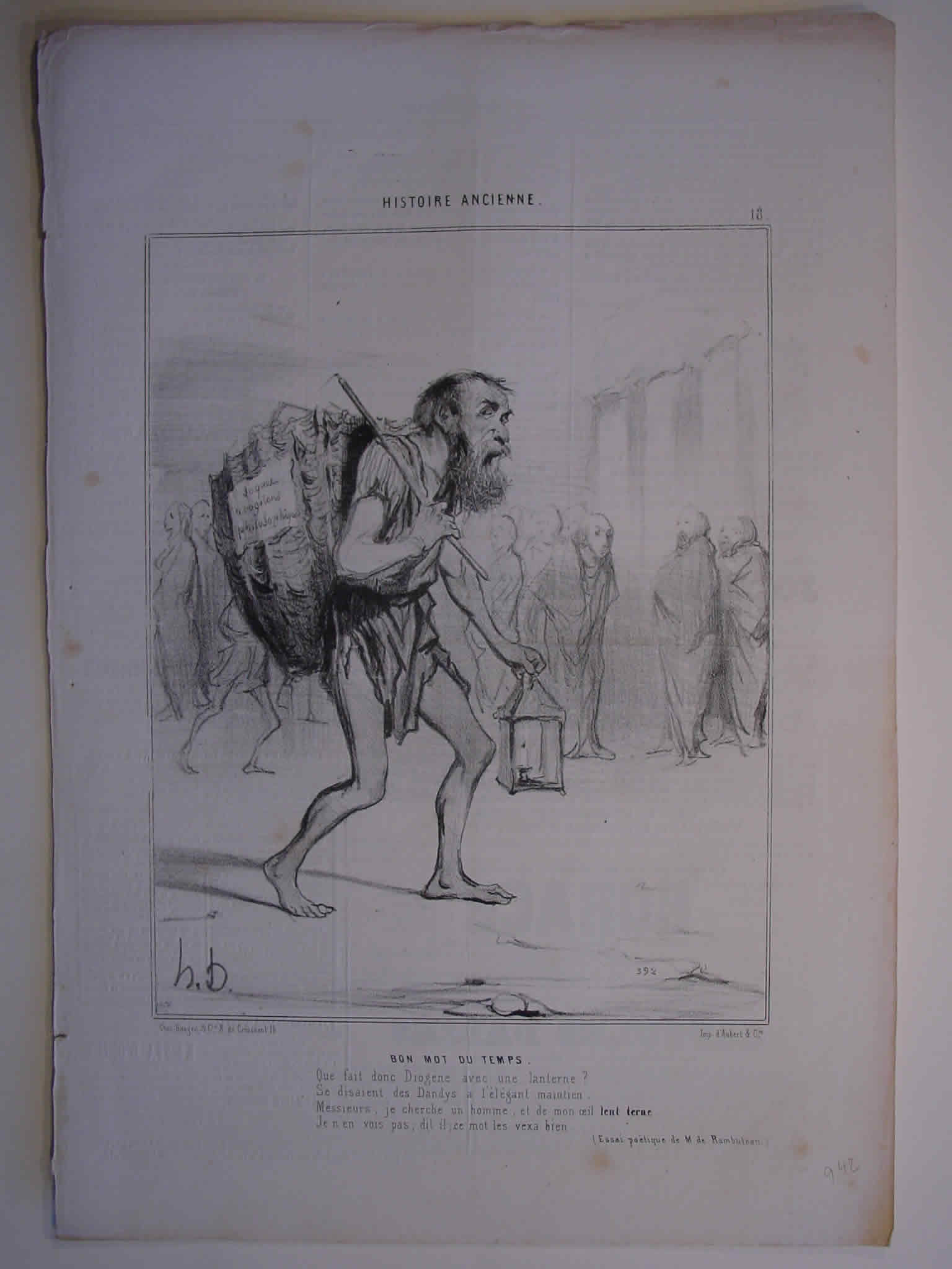 Honore Daumier, DR942