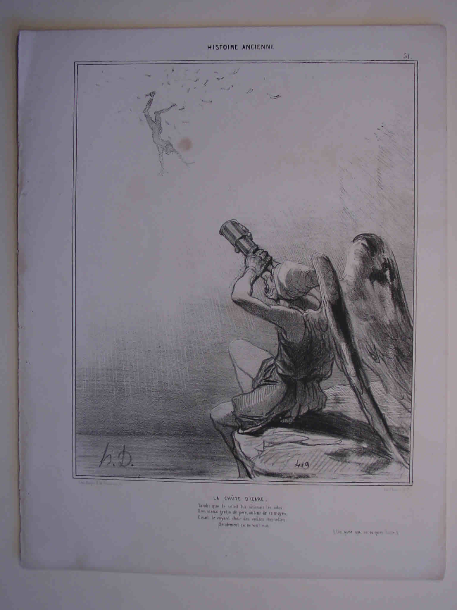 Honore Daumier, DR955