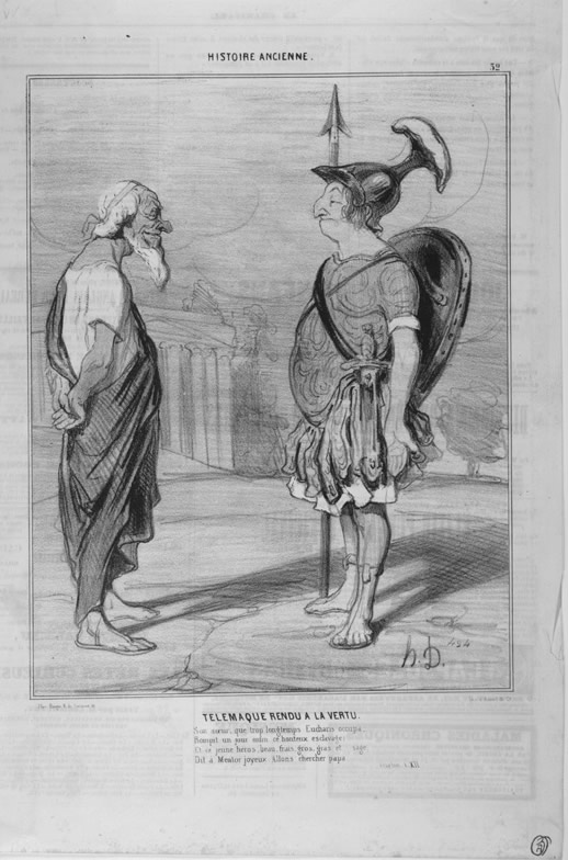 Honore Daumier, DR956