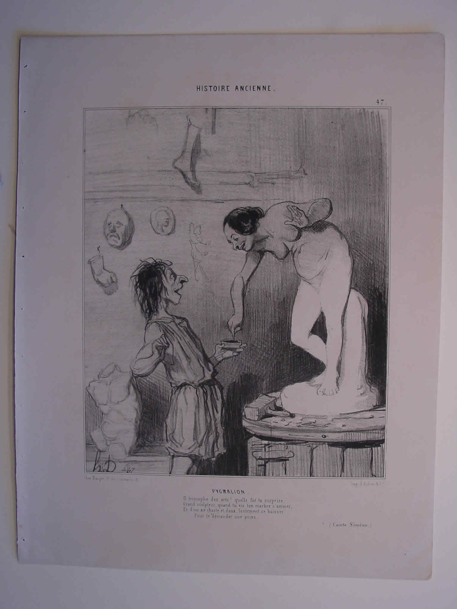 Honore Daumier, DR971